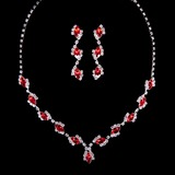 Stranges Strasssteine Damen Schmuck Sets (011040364)