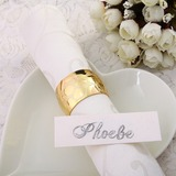 Shining Gold Napkin Rings (122031254)
