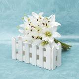 Raffiné Forme libre Satin Bouquets de demoiselle d'honneur (123032441)
