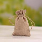 Elegant Leinen Geschenktaschen (Satz von 12) (050055105)