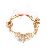 Romantische Blumen Legierung/Tschechische Stones Damen Armbänder (011054767)