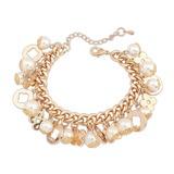 Schöne Legierung/Perle Damen Armbänder (011053754)