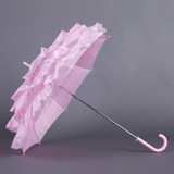 Pink Terylene Wedding Umbrellas (124037478)