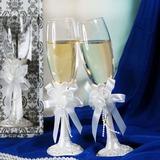 Elegante Flautas tostado con Arco de la cinta (126032347)