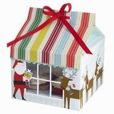 Jultomten Tomten Muffin lådor med Färgband (Set om 12) (050028078)