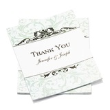 Personalized Formal Style Thank You Cards (Set of 50) (114054959)