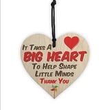 A forma di cuore Dolce Legno Accessori decorativi (Set di 2) (131186040)