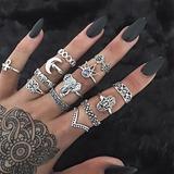 Fashionable Alloy Acrylic With Acrylic Women's Fashion Rings (137190517)