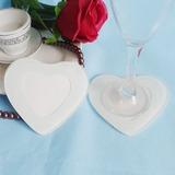 En forme de coeur Verre Caboteur (Lot de 2) (051051215)