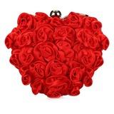 Mode Satiné avec Fleur Pochettes (012028456)
