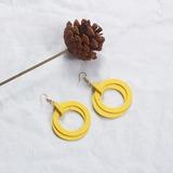 Alloy Wood Women's Fashion Earrings (137192497)