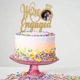 Estamos comprometidos Acrílico/Madera Decoración de tortas (119203556)