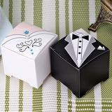 Smoking & Abendkleid Quader Geschenkboxen (Satz von 12) (050032991)