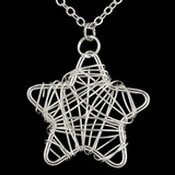 sternförmige Versilbert Frauen Mode-Halskette (137056073)