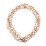 Attraktiv Perle Damen Halsketten (011054240)