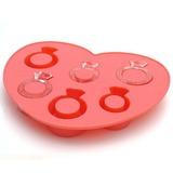 Reizender Ring Silikon Eis-Form (051053240)