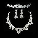Gorgeous Alloy With Rhinestone Ladies' Jewelry Sets (011026642)