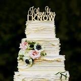 Dulce Amor Acrílico/Madera Decoración de tortas (119187772)