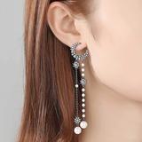 Stylish Zircon Copper With Zircon Women's Fashion Earrings (Sold in a single piece) (137199476)