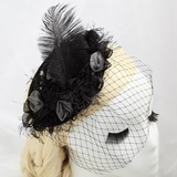 Glamourous Artificial Silk/Feather Fascinators (042057886)