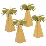 12pcs/set Palm Tree Favor Box (050154082)