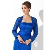 Long Sleeve Lace Special Occasion Wrap (013012433)