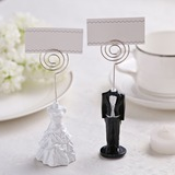 Tuxedo & Gown Resin Place Card Holders (Set of 2 pieces) (051051273)