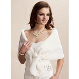 Faux Fur Wedding Wrap (013002337)