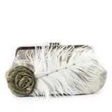 Lysande Silke/Sammet med Blomma Grepp (012033891)