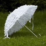 White Lace Wedding Umbrellas (124032729)