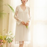 Cotton/Spandex Bridal/Feminine Sleepwear Sets (041192086)