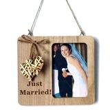 Sposo Regali - Colore Solido Legno Cornice (257198140)