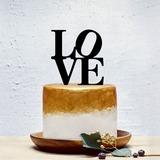 Amour doux/Conception d'amour Acrylique Décoration pour gâteaux (119201363)