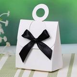 Einfache Geschenkboxen mit Bogen (Satz von 12) (050028825)