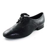 Herren Echtleder Flache Schuhe Ballsaal mit Zuschnüren Tanzschuhe (053013036)