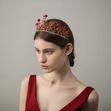 Gorgeous Fabric Tiaras (Sold in single piece) (042190878)