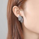 Butterfly Shaped Zircon Copper With Zircon Women's Fashion Earrings (Sold in a single piece) (137199480)