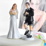 Sportiva Coppia Resina Matrimonio Decorazioni per torte (122036153)