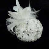 Stijlvol Strass/Parel/Veer/Kant Fascinators (042026316)