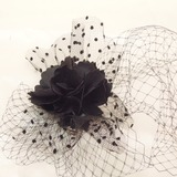 Klassisk Netto garn Fascinators (042026164)