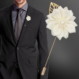 Classic Satin Boutonniere (Sold in a single piece) - (123182820)