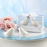Vogel-Entwurf Keramik Salz-und Pfefferstreuer (Set mit 2 Stück) (051024605)