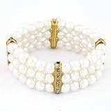 Unik Legering med Fauxen Pärla Damer' Armband (011053744)
