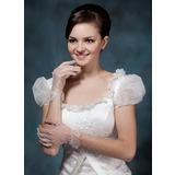 Voile Wrist Längd Handskar Bridal (014020505)