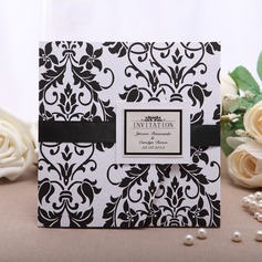 Personalizzato Stile Floreale Wrap & Pocket Invitation Cards (Set di 50) (114054989)
