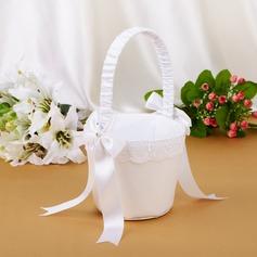 Elegante Cesto di fiori con Prua/Di faux perla (102039777)