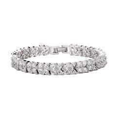 Smykker Dejligt smukke zirkon platineret Gaver (129166762)