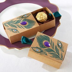 Cubi Carta Kraft Scatole di Favore (Set di 100) (050169445)