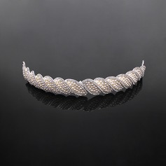 élégant Alliage/Perles d'imitation Tiaras (042017916)