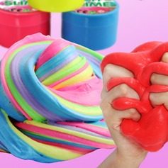 Fluffy Slime,Fluffy Floam Slime Stress Relief Toy Scented Sludge Toys  (129154334)